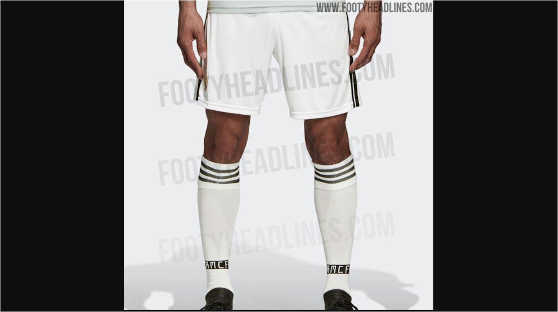 Celana dan kaos kaki Real Madrid untuk musim baru 2018-2019