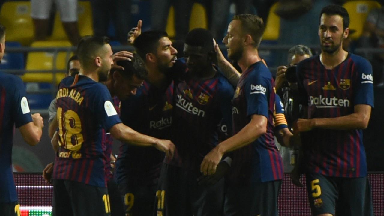 Barcelona vs Sevilla, Piala Super Spanyol