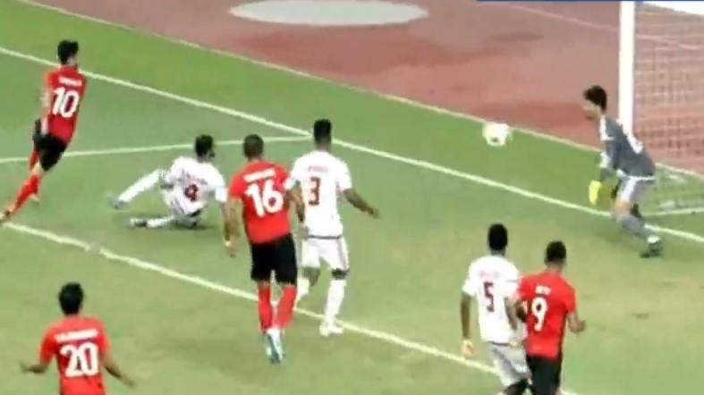 Indoensia vs Uni Emirat Arab Skor 2-2