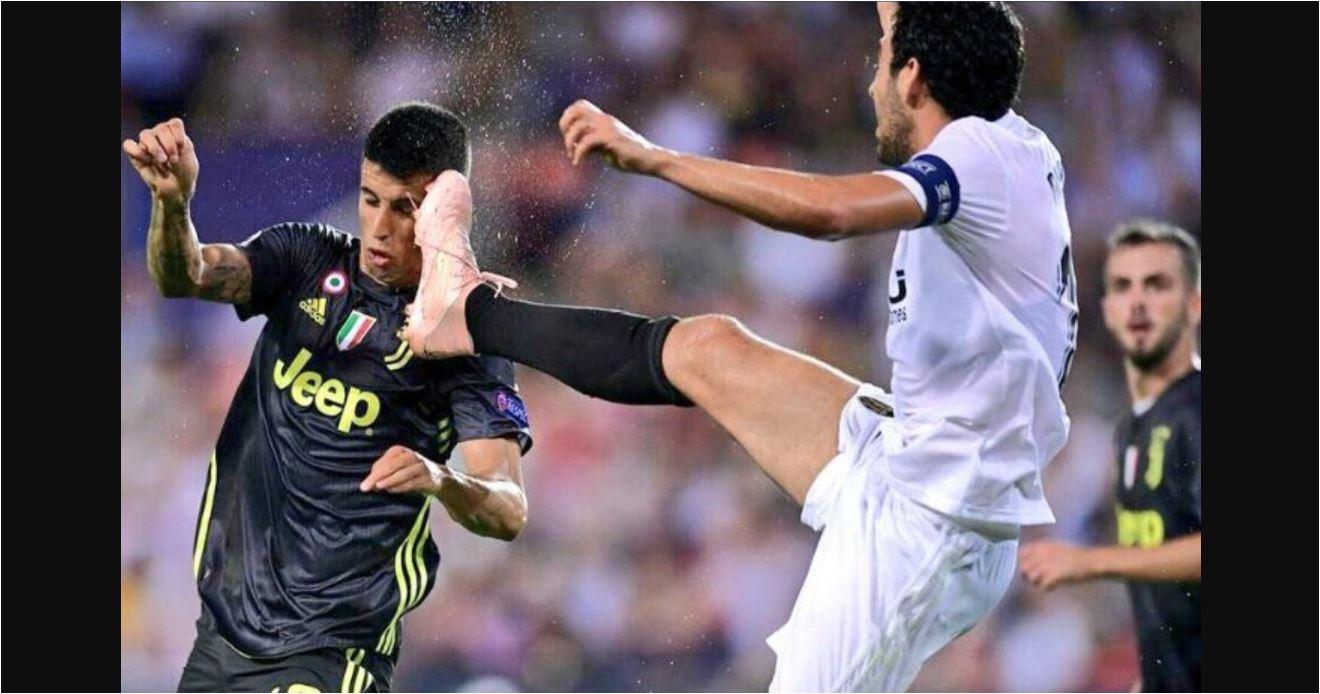 Dani Parejo, Valencia vs Juventus