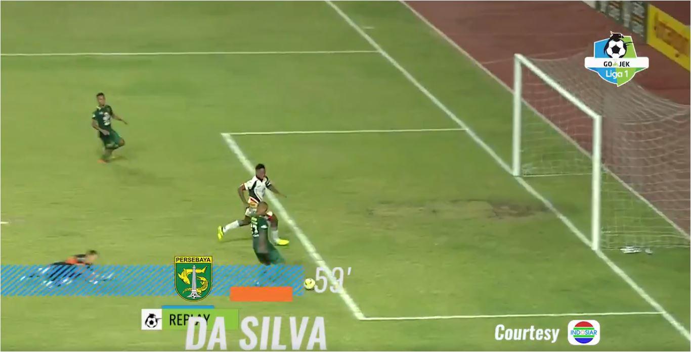 Gol Keempat Persebaya, David Da Silva