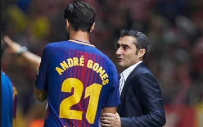 Andre Gomes kejutkan Ernesto Valverde setelah pemain itu meminta ijin tinggalkan Barcelona.