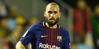 Barcelona meminta pemainnya, Aleix Vidal, untuk mencari klub baru.