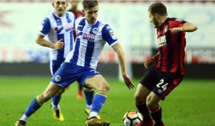 Tim League One,Wigan Athletic, berhasil kalahkan tim Liga Premier, Bournemouth, 3-0, di putaran ketiga Piala FA, Kamis (18/1) dinihari WIB.