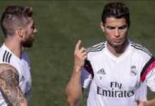 Ada yang tak beres antara Cristiano Ronaldo dan Sergio Ramos, di mana keduanya diberitakan nyaris berkelahi di ruang ganti Real Madrid.