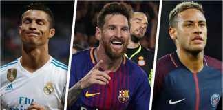 Cristiano Ronaldo hanya menduduki ranking No 49 dari daftar pemain paling berharga dunia yang dilansir The International Centre for Sports Studies (CIES). Neymar dan Lionel Messi menduduki urutan dua teratas.