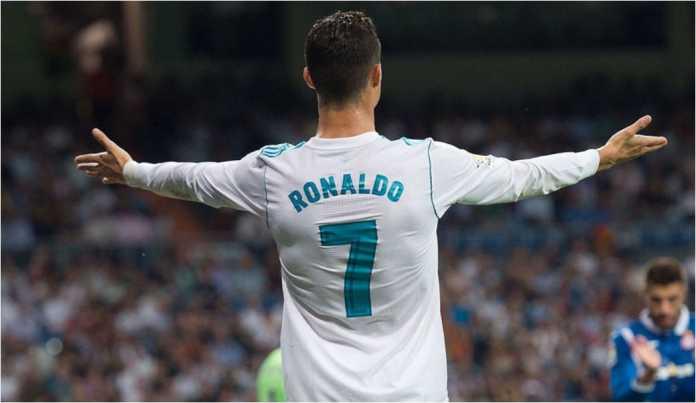Cristiano Ronaldo meluapkan kekecewaannya dalam satu laga bersama Real Madrid