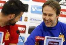 Pelatih Spanyol Julen Lopetegui mengaku akan terus pantau permainan penyerang Atletico Madrid, Diego Costa, jelang bergulirnya Piala Dunia Rusia pada musim panas mendatang.