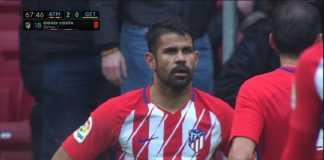 Atletico Madrid tak akan ajukan banding terkait kartu merah Diego Costa, tapi malahan beri pujian pada pemain tersebut.