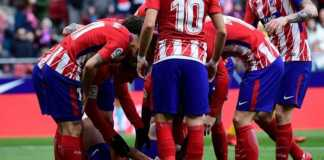 Diego Costa saat cedera dalam laga Atletico Madrid vs Girona