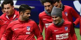 Pelatih Atletico Madrid, Diego Simeone, akan duetkan dua bintangnya, Diego Costa dan Antoine Griezmann di lini depan skuadnya.