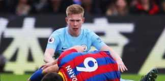 Crystal Palace harus terima nasib kehilangan dua punggawanya, usai keduanya lakukan tekel keras pada bintang Manchester City, Kevin De Bruyne, Minggu (31/12) lalu.