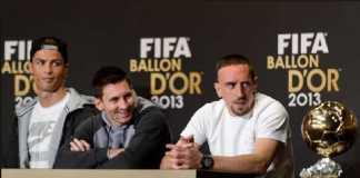 Franck Ribery mengklaim Ballon d'Or 2013 miliknya telah dicuri Cristiano Ronaldo.