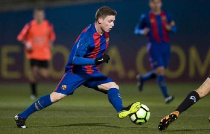 Gelandang muda Barcelona, Sergio Gomez, putuskan teken kontrak di Borussia Dortmund.