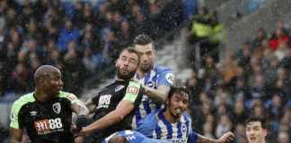 Bournemouth berhasil mencuri satu poin saat bertandang ke markas Brighton dalam laga lanjutan Liga Inggris pekan ke 22.