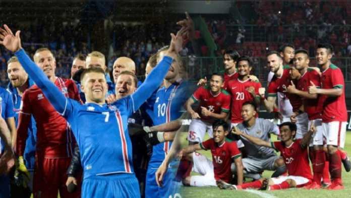 Timnas Islandia berhasil permalukan Indonesia Selection setengah lusin gol tanpa balas di laga persahabatan, Kamis (11/1) malam ini.