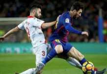 Gol Lionel Messi ke gawang Deportivo Alaves, Senin (29/1) dinihari tadi, jadi golnya yang ke-212 dalam 200 pertandingan La Liga yang digelar di Camp Nou.