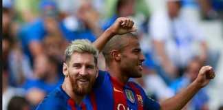 Lionel Messi berharap Rafinha tetap merumput bersama Barcelona musim ini.