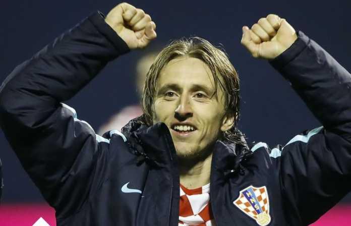 Untuk ke enam kalinya, Luka Modric jadi Pemain Terbaik Kroasia, samai rekor Davor Suker.