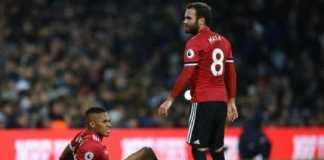 Manchester United bawa dua pemainnya yang cedera, Antonio Valencia dan Michael Carrick, ke kamp latihan tengah musim di Dubai.