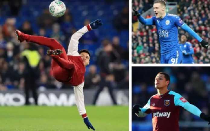 Manchester United ikut ramaikan perburuan terhadap pemain Arsenal, Alexis Sanchez, dan dua opsi lain untuk lini depannya, yakni Javier Hernandez dan Jamie Vardy.