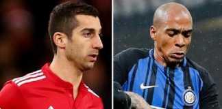 Manchester United bersedia lepas Henrikh Mkhitaryan demi dapatkan Joao Mario.