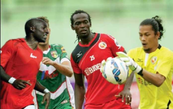 Pemain asal Kamerun ini, Mohamadou Alhadji Adamou jalani trial di Sriwijaya FC asuhan Rahmad Darmawan.