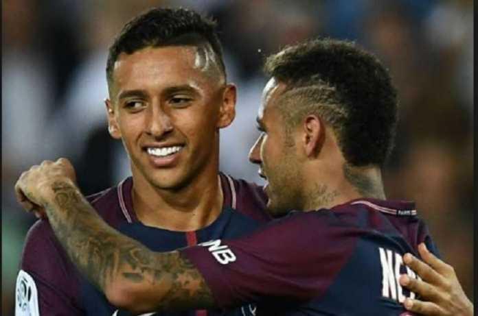 Neymar mau pindah ke Real Madrid, asal raksasa Spanyol itu juga merekrut rekannya asal Brasil di PSG, Marquinhos.