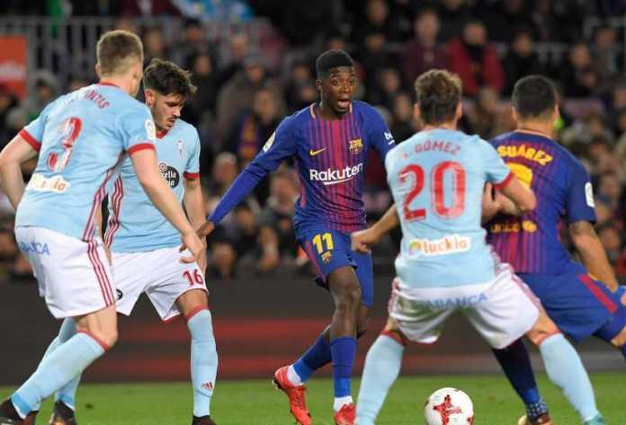 Ousmane Dembele kembali menepi dari skuad Barcelona akibat cedera.