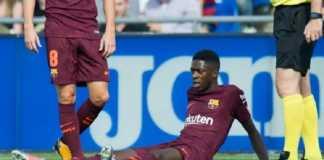 Ousmane Dembele memperkuat Barcelona pekan ini setelah absen empat bulan akibat cedera hamstring.