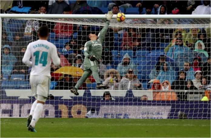Gol pemain Villarreal Pablo Fornals ke gawang Real Madrid dalam lanjutan laga Liga Spanyol, Sabtu malam