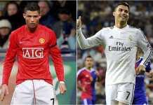 Sedikitnya jumlah gol yang didapatkan Cristiano Ronaldo musim 2017/2018 ini mirip dengan apa yang dialaminya saat berusia 20 tahun di Manchester United