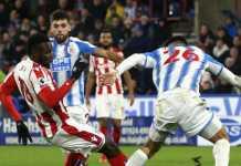 Stoke CIty vs Huddersfield - Liga Inggris