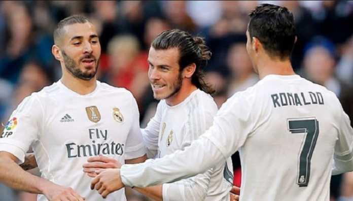 Trio BBC andalan Zinedine Zidane kembali tampil bersama-sama sebagai starter dalam laga di kandang Valencia, Sabtu (27/1) malam ini.