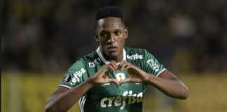 Barcelona akan segera kedatangan Yerry Mina dari Palmeiras pekan ini.
