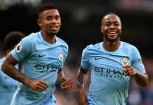 Dua bintang Manchester City, Gabriel Jesus dan Raheem Sterling, berpeluang dimainkan saat the Citizens bertemu Arsenal di final Carabao EFL Cup, Minggu (25/2) malam WIB.