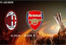 Kejutan dari hasil undian 16 besar Liga Europa adalah bertemunya Arsenal dan AC Milan.
