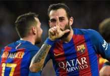 Aleix Vidal berpeluang mengisi susunan pemain lini tengah Barcelona, dan mengejutkan Starting XI El Barca di kandang Chelsea, Rabu (21/2) dinihari nanti.