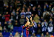 Andres Iniesta diminta waspadai fans Chelsea saat Barcelona tandang ke Chelsea, Rabu (21/2) dinihari WIB.