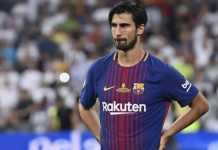 Barcelona siap melepas Andre Gomes pada musim panas mendatang, dan hanya inginkan pemain itu ditransfer secara permanen oleh klub peminat.