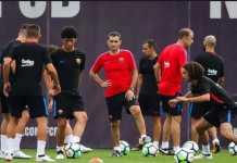 Barcelona asuhan Ernesto Valverde akan bermain tanpa empat pemainnya saat Barca kedatangan Girona, Minggu (25/2) dinihari nanti.