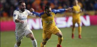 Real Madrid tanpa Dani Carvajal di babak 16 besar Liga Champions melawan PSG.