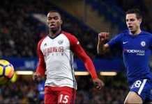 Hanya bermain tiga menit, Daniel Sturridge cedera lagi saat West Brom tandang ke Chelsea, Selasa (13/2) dinihari tadi.