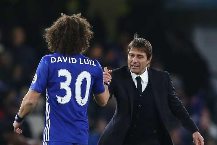 David Luiz, Antonio Conte - Chelsea