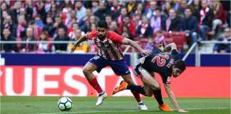 Mantan striker Chelsea Diego Costa mencetak 1 gol pada laga Liga Spanyol antara ATletico Madrid vs Athletic Bilbao, Minggu, yang usai dengan skor 2-0.