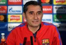 Ernesto Valverde akan istirahatkan dua bintangnya, Lionel Messi dan Luis Suarez, saat Barcelona menggelar derby Catalan melawan Girona FC, Minggu (25/2) dinihari WIB.