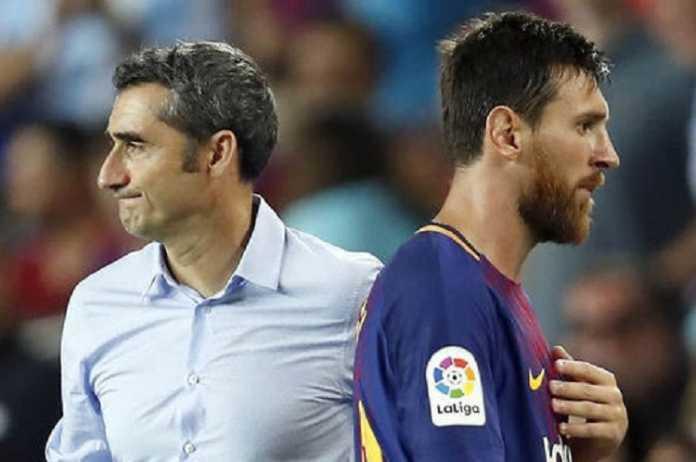 Pelatih Barcelona, Ernesto Valverde, yakin Lionel Messi butuh 'sedikit bernafas' dalam jalani jadwal padat di musim ini.