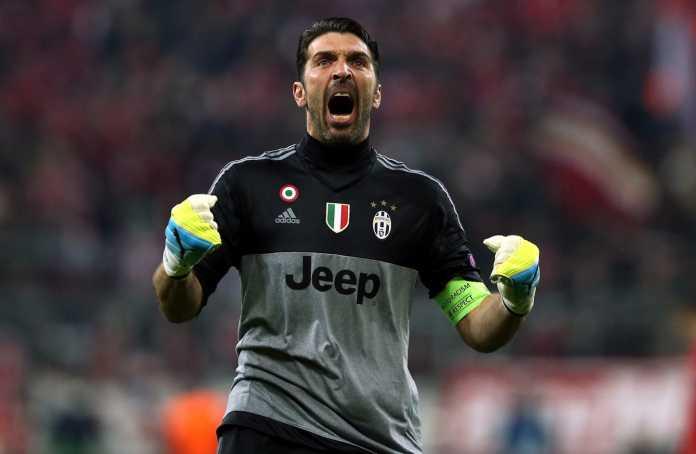 Gianluigi Buffon melakukan satu penyelamatan hebat bersama Juventus. Ia mencapai tonggak 500 pernampilan bersama Bianconeri, Sabtu.