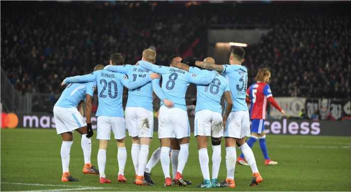 Hasil Liga Champions : Basel vs Manchester City Skor Akhir 0-4