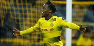 Michy Batshuayi mencetak gol lagi bagi Borussia Dortmund, kali ini di ajang 32 besar LIga Europa melawan Atalanta, Jumat, yang usai dengan skor 2-2.